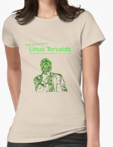Linux Open Source Heroes - Linus Torvalds Womens Fitted T-Shirt