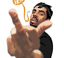 Vic Mensa 2 by FBananaworks