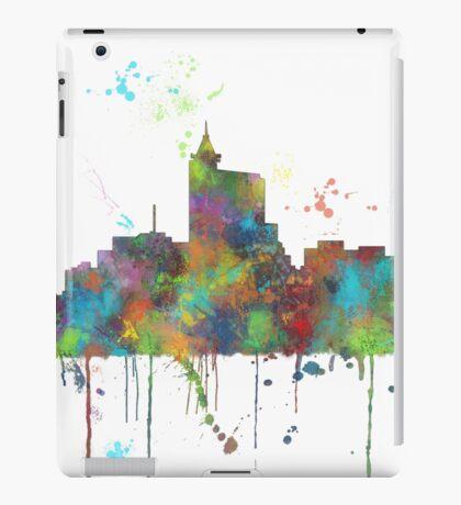 Raleigh, North Carolina Skyline iPad Case/Skin