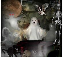 Snowdrop - The Spooky Ghost ! by Morag Bates
