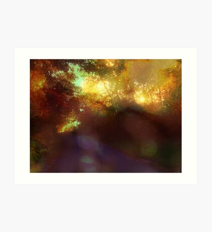 your love is an eternal autumn in my soul Art Print