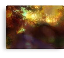 your love is an eternal autumn in my soul Canvas Print