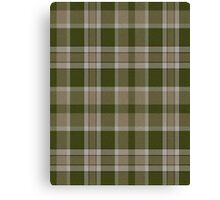 02905 Muscogee County, Georgia Tartan  Canvas Print