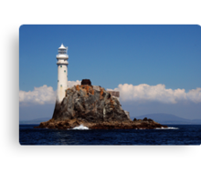 'Ireland's Teardrop' - the Fastnet Rock and lighthouse Canvas Print