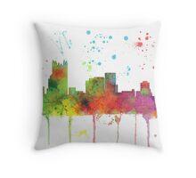 Pittsburgh, Pennsylvannia Skyline Throw Pillow