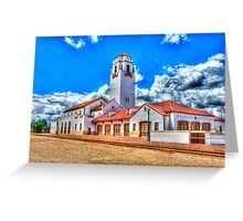 Boise Train Depot Greeting Card