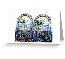 Frames Greeting Card