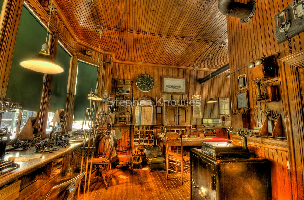 The Old Ticket Office by Stephen Knowles