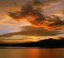 Golden Sunrise (October 07, 2010) by Gail Bridger