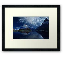Upper Saltis River Framed Print