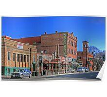 Brick Architecture in Boise, Idaho Poster