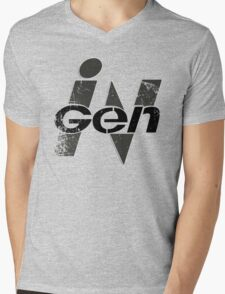 InGen Grunge Mens V-Neck T-Shirt