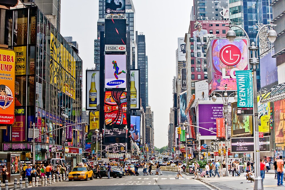 Times Square in Manhattan, NYC by danwa