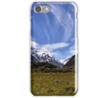 High Clouds Over the Hooker Valley iPhone Case/Skin