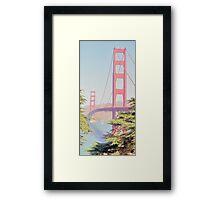 1930s Golden Gate Framed Print