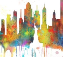 New York, NY Skyline Sticker