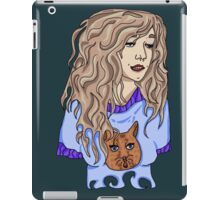 Blonde Haired Beauty iPad Case/Skin