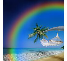 Rainbow Island Photographic Print