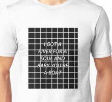 Drag Me Down - Black Grid Unisex T-Shirt