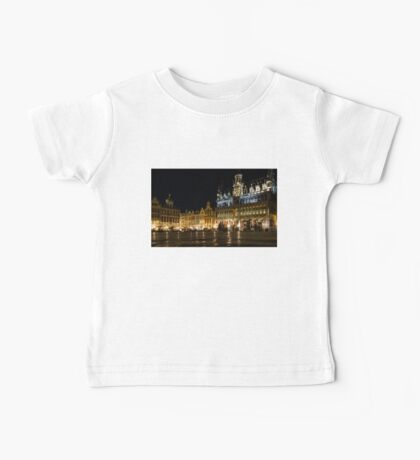 Brussels - the Magnificent Grand Place at Night Baby Tee
