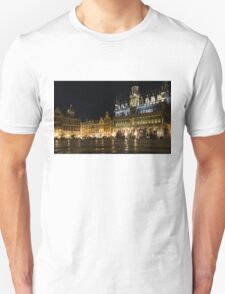 Brussels - the Magnificent Grand Place at Night T-Shirt