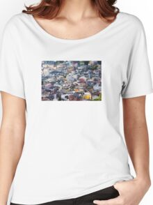 Panorama of Taormina, Sicily - ITALY Women's Relaxed Fit T-Shirt