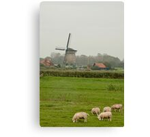Typical Dutch Canvas Print