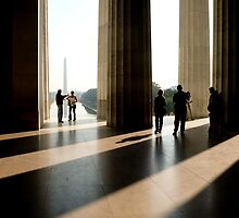 The Lincoln Memorial by Jim Scolman