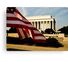 The Lincoln Memorial. Canvas Print