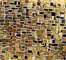 Gold mosaic background by Atanas Bozhikov Nasko