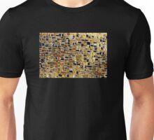 Gold mosaic background Unisex T-Shirt