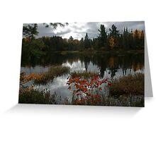 Peck Lake Algonquin Park Ontario Canada Greeting Card