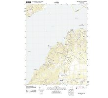 Massachusetts  USGS Historical Topo Map MA Vineyard Haven 20120606 TM Photographic Print
