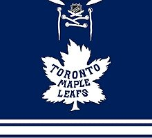 Toronto Maple Leafs 2014 Winter Classic Jersey by Russ Jericho