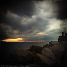 Storm Notes - Piran, Slovenia by Eric Strijbos