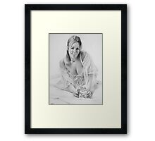 Michelle Framed Print