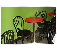 cafe at little five points Poster