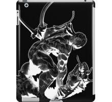 Cyborg Ninja (White Opaque) iPad Case/Skin
