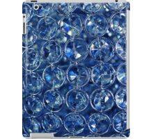Blue diamonds iPad Case/Skin