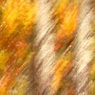 Birches Ala Monet by Gina Ruttle  (Whalegeek)