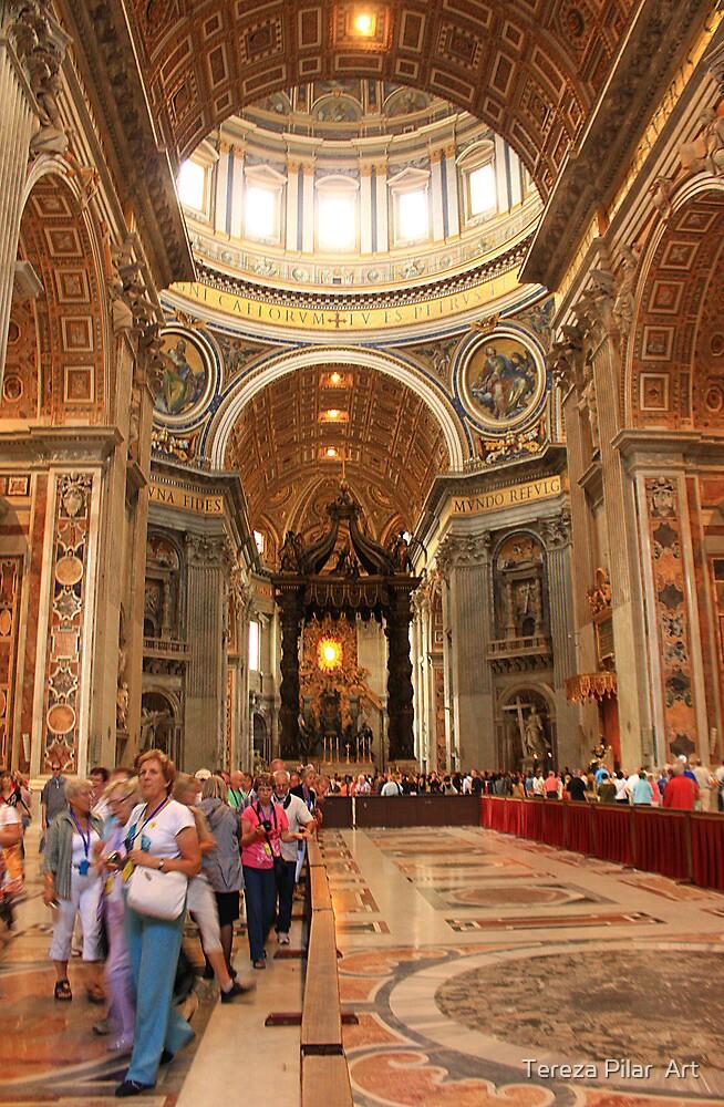 St.Peter's Basilica. Rome by terezadelpilar~ art & architecture