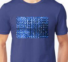 Blue Diamonds Background Unisex T-Shirt