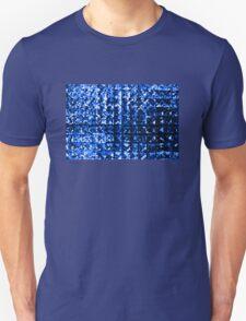 Blue Diamonds Background T-Shirt