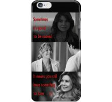 - Meredith Grey quotes #1  iPhone Case/Skin