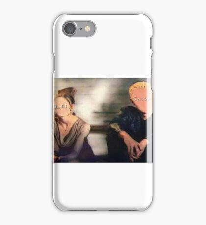 Buffy&Spike-Flooded iPhone Case/Skin