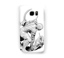 Cyborg Ninja (White Outline) Samsung Galaxy Case/Skin