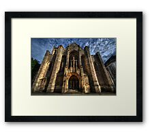 Leeds Cathedral Framed Print