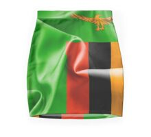 Zambia Flag Mini Skirt
