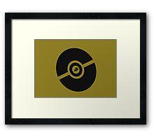 Pokemon Pokeball Ground  Framed Print