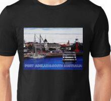 INNER HARBOUR-PORT ADELAIDE Unisex T-Shirt